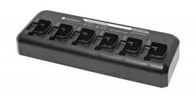 Cargador Multiple para DEP450 PMLN6598 Motorola
